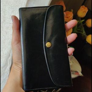 Coach**vintage leather wallet
